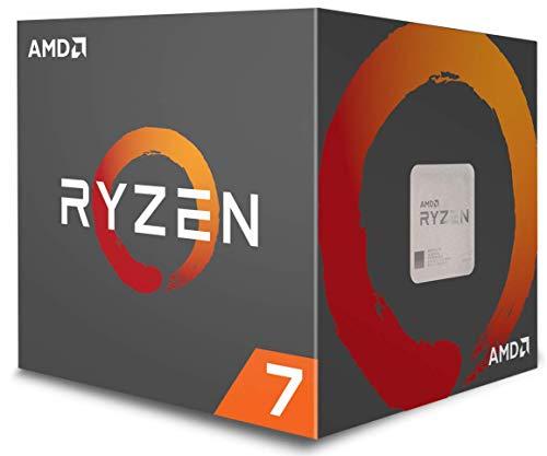 Procesador AMD YD1700BBAEBOX Ryzen 7 1700 con enfriador LED Wraith Spire
