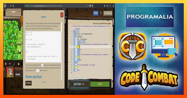 Codecombat aprender a programar