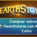 Comprar sobres de Hearthstone con Amazon Coins más baratos