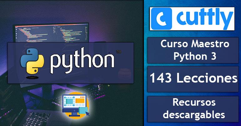 Curso-Maestro-de-Python-3---Aprender-python-desde-cero