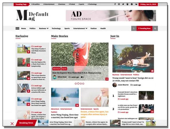 Default-mag-tema-para-revistas-y-diarios-gratis