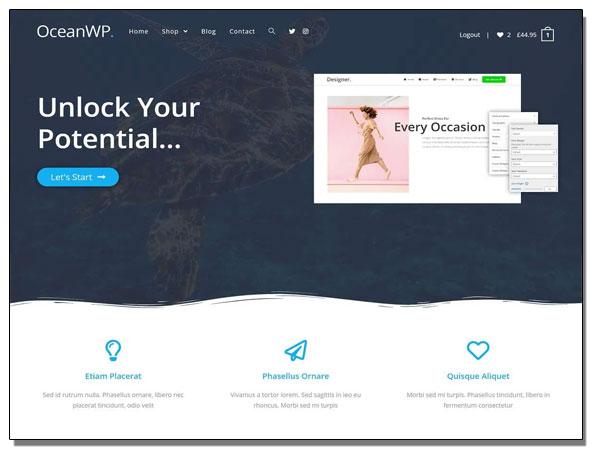 Ocean-Weap,-Temas-de-WordPress-rápidos-y-gratis