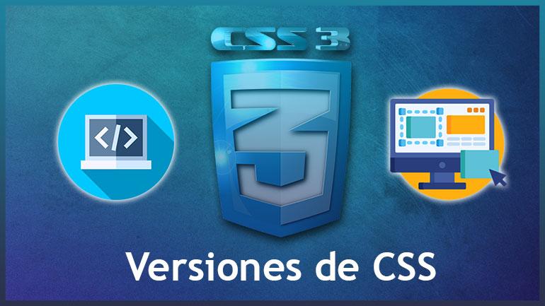 Versiones-de-css-programalia