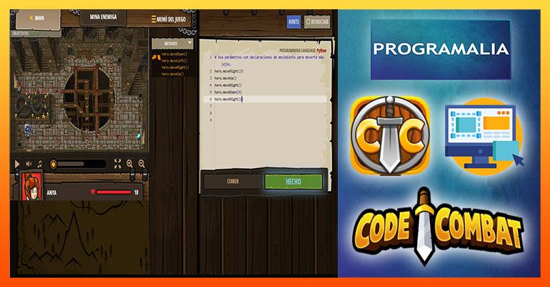 aprender programación jugando codecombat