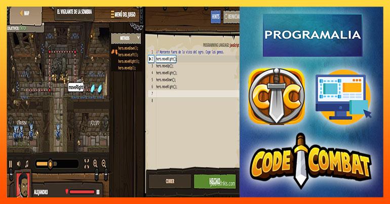 aprender a programar jugando codecombat