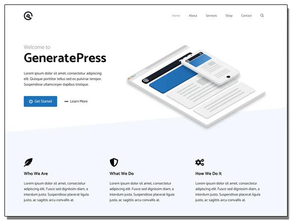 temas de WordPress rápidos y gratis